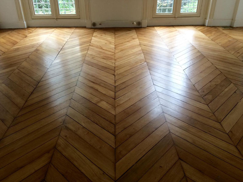Vitrification de parquet à Paris 16