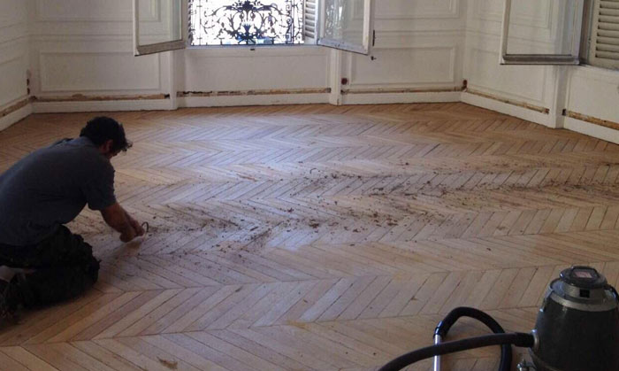 Rénovation de parquet à Paris 16
